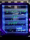 tableta luz tablero de mensaje llevado tablero de mensaje de la fluorescencia de la tableta de fluorescencia