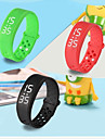 W6 Sports Health Pedometer Smart Wearable Wristband USB Charge LED Watch Fitness Tracker Silicone Bracelet
