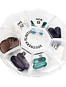 Travel Pill Box/Case Portable Foldable for Travel Accessories for Emergency