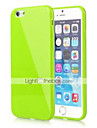 BIG D Silica Gel Soft Back Cover for iPhone 6s 6 Plus