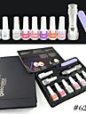 621K CANNI Factory Guangzhou Factories GDCOCO Brand Nails Art Gel 10 Series(A to J) Polish Gel Kit