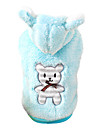 Dog Costume / Coat / Hoodie / Outfits Blue / Pink Dog Clothes Winter Cosplay / Fashion / Halloween