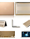 """Case for Macbook Pro 15.4"""" Solid Color Aluminum Material Top Selling Solid Color Aluminum MacBook Case with Keyboard Cover and Screen Flim"""