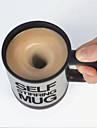 Self Stirring Coffee Mug Automatic Stir Cup Tea Office Funny Gift Mixing Drinks