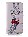 For iPhone 6 Case / iPhone 6 Plus Case Wallet / with Stand / Flip Case Full Body Case Animal Hard PU LeatheriPhone 6s Plus/6 Plus /