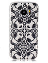 Pour Samsung Galaxy Coque Transparente Coque Coque Arriere Coque Mandala PUT pour SamsungS7 S6 edge S6 S5 Mini S5 S4 Mini S4 S3 Mini S3