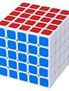 Shengshou® Mjuk hastighetskub 5*5*5 Hastighet Magiska kuber Svart Blekna Ivory ABS