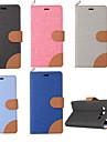 Для Кейс для  Samsung Galaxy Бумажник для карт / со стендом / Флип Кейс для Чехол Кейс для Один цвет Искусственная кожа SamsungJ3 / J2 /