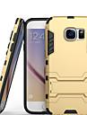 Pour Samsung Galaxy S7 Edge Antichoc Avec Support Coque Coque Arriere Coque Armure Polycarbonate pour Samsung S7 edge S7