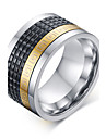 316 Pure Steel Great Wall Lines Man Ring Christmas Gifts