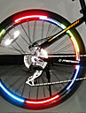 Bicycle reflector Fluorescent MTB Bike Bicycle Sticker Cycling Wheel Rim Reflective Stickers Decal Accessories