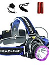 LS1792 Headlamps LED 2000 Lumens 3 Mode Cree XM-L T6 2 x 18650 Batteries Adjustable Focus Impact Resistant Rechargeable Waterproof Strike
