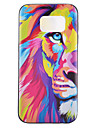 Lion Pattern TPU Phone Case For Samsung Galaxy S7 /S7 Edge /S7 Plus/ S6/ S6 Edge/S6 Edge Plus
