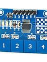 емкостный сенсорный модуль коммутации цифровой ttp224 датчик касания 4-путь для Arduino