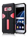 Pour Samsung Galaxy S7 Edge Antichoc / Avec Support Coque Coque Arriere Coque Armure Polycarbonate SamsungS7 edge / S7 / S6 edge plus /