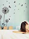 Романтика / Мода / Цветы / Пейзаж Наклейки Простые наклейки,pvc 60*90cm