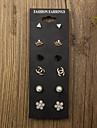 6pair /set Stud Earrings Jewelry Set