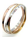Pulseiras Bracelete Aco Inoxidavel Casamento / Pesta / Diario / Casual Joias Dom Dourado,1pc