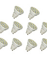 5W GU10 LED Spotlight 20 SMD 5050 320 lm Warm White / Cool White AC 220-240 V 10 pcs