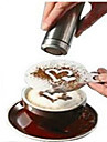 8pcs Coffee Novelty Fancy Coffee Garland Mold Printing Mold