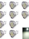 7W GU10 Точечное LED освещение R63 16 SMD 5630 560 lm Холодный белый Декоративная AC 220-240 V 10 шт.