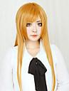 Cosplay Wigs Sword Art Online Asuna Yuuki Orange Long Straight Anime Cosplay Wigs 80 CM Heat Resistant Fiber Female