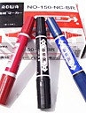Marker Pen Solventborne Large Double Slider Marker Pen for Office and School Promotional Pen