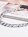 Bracelet Bracelets d\'identification Acier inoxydable Autres Original Mode Soiree Regalos de Navidad Bijoux Cadeau Argent,1pc