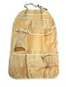 ziqiao portátil encosto do banco do veículo à prova de água saco de acabamento com compartimento do assento bolsos carro bolsa