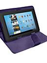 universele flip pu lederen tablet case met standaard voor 10 inch (verschillende kleuren)