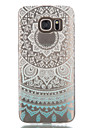 For Samsung Galaxy S7 S7 EDGE Colored Flowers TPU Case