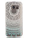 Для Samsung Galaxy S7 Edge Прозрачный / С узором Кейс для Задняя крышка Кейс для Мандала TPU Samsung S7 edge / S7 / S6 edge / S6 / S5