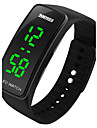 SKMEI Herren Armbanduhr Digitaluhr LED digital Caucho Band Schwarz Blau Rot Rose