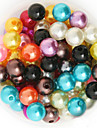 Beadia 92g(Approx 200Pcs)  ABS Pearl Beads 10mm Round 15 Colors U-Pick Plastic Loose Beads DIY Jewelry Accessories