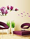 ботанический / Натюрморт / Мода / Цветы / Отдых Наклейки Простые наклейки,PVC 70*50*0.1
