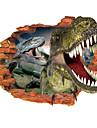 Животные Мода Наклейки 3D наклейки Декоративные наклейки на стены материал Съемная Украшение дома Наклейка на стену