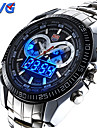 Men\'s Multifunctional LED Noctilucent Two Time Zones Calendar Luxury 50M Water Resistant Sports Fashion Wrist Watches(Assorted Colors) Cool Watch