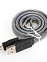 USB 2.0 Плоские Алюминий Кабели 100cm
