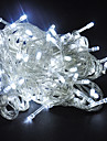 10M 6W 100-LED White Light String Lamp Christmas Halloween Decoration (110/220V)