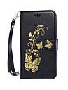 풀 바디 카드 홀더 / 지갑 / 충격방지 / 먼지방지 / 스탠드 / 튀기다 꽃장식 인조 가죽 하드 Flip  Dustproof   Shockproof   Wallet   Card Holder 케이스 커버를 들어 SonySony Xperia XA