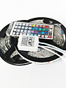 Z®ZDM 10M 150X5050  Waterproof SMD RGB LED Strip Light 44Key Remote Controller 1BIN2 Connecting line(DC12V)