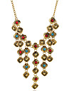 Bijoux Colliers decoratifs / Boucles d\'oreille Collier / Boucles d\'oreilles Gland Mariage / Soiree / Quotidien / Decontracte 1set Femme
