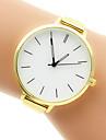 Women\'s Fashion Watch Bracelet Watch Quartz Casual Watch Stainless Steel Band Silver Gold
