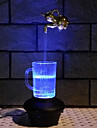 творческий кран стекла лампа водить ночью свет