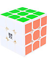 Yongjun® Slät Hastighet Cube 3*3*3 Hastighet Magiska kuber Svart Blekna / Ivory ABS