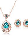 Bijoux Colliers decoratifs Boucles d\'oreille Collier / Boucles d\'oreilles Set Ajustable Adorable Boites et sacs cadeauxMariage Soiree