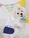 Dog Jeans Spring/Fall Jeans Cowboy, Dog Clothes / Dog Clothing