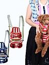 Кошка Собака Переезд и перевозные рюкзаки передняя Рюкзак Животные Корпусы Компактность Дышащий В полоску Красный Синий