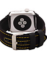Watch Band for Apple Watch 38mm 42mm Nylon and Leather Watch Band Strap Classic Buckle