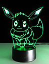 1PC 2016 New Ibrahimovic  3D Lights Colorful Touch Led Visual Light Gift Atmosphere Decorative Lamp
